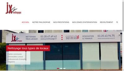 Site internet de Jx Nettoyage