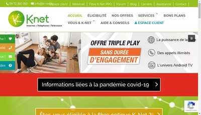 Site internet de K-Net