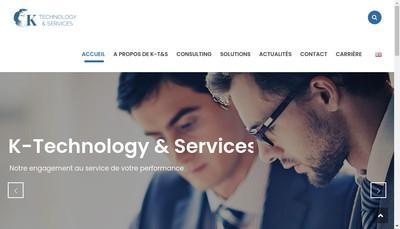 Site internet de K-Technology & Services
