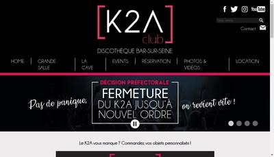 Site internet de Discotheque K2A