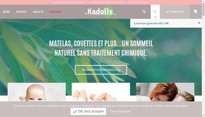 Site internet de Kadolis