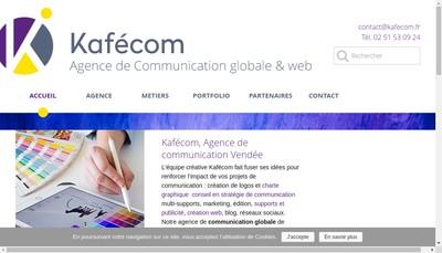 Site internet de Kafecom Communication