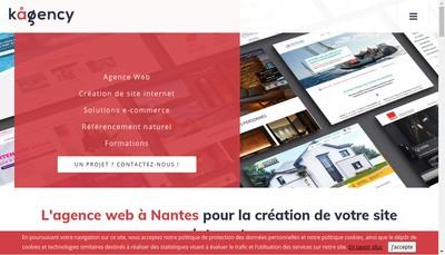 Site internet de K Agency