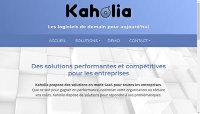 Site internet de Kaholia