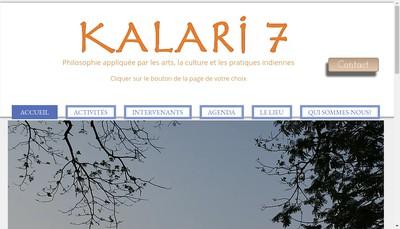 Site internet de Kalari 7