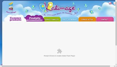 Site internet de Kalimage