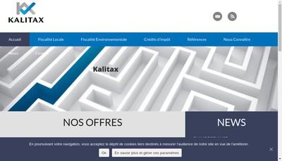 Site internet de Kalitax