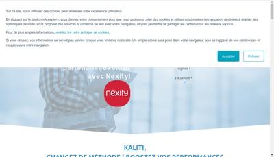 Site internet de Kaliti