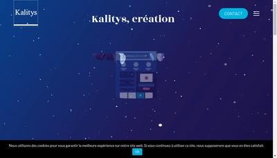 Site internet de Kalitys