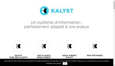 Site internet de Kalyst