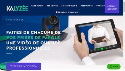 Site internet de Kalyzee