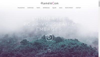 Site internet de Kamelecom