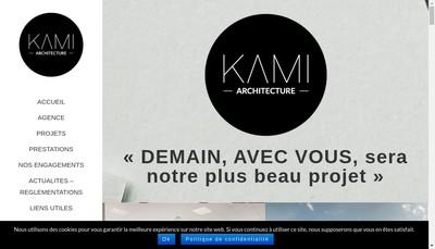 Site internet de Kami Architecture