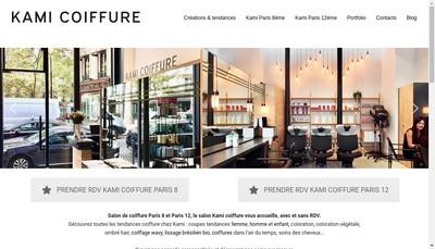 Site internet de Kami Coiffure