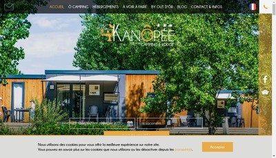 Site internet de Kanopee Village