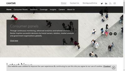 Site internet de Kantar