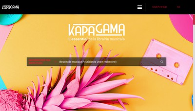 Site internet de K Is The Key