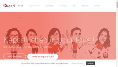 Site internet de Kaperli