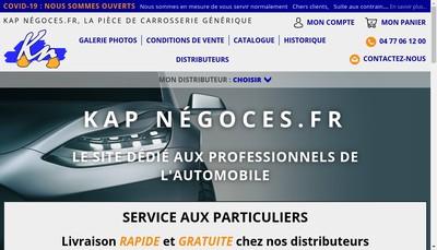 Site internet de Kap Negoces