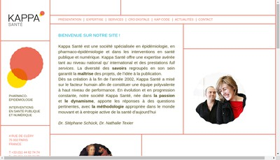 Site internet de Kappa Sante Bis