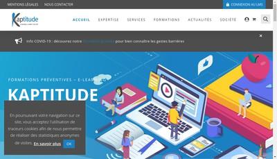 Site internet de Kaptitude