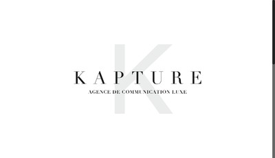 Site internet de Kapture