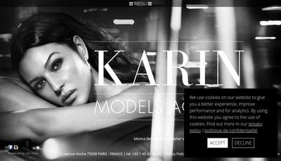Site internet de Karin Models