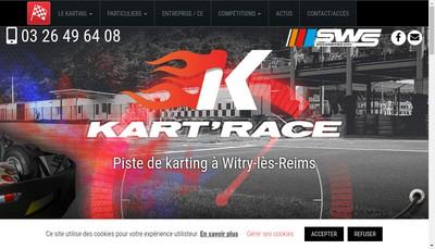 Site internet de Kart' Race