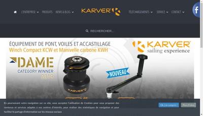 Site internet de Karver