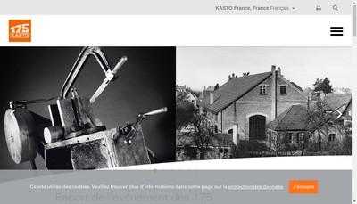 Site internet de Kasto France
