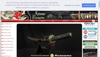 Site internet de Murasame