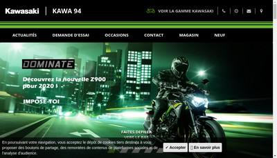 Site internet de Kawasaki