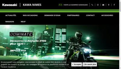 Site internet de Kawa-Bike