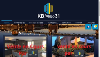 Site internet de Kb Immo 31