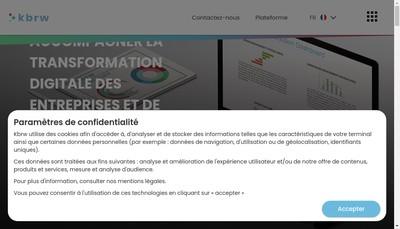 Site internet de Kbrw Ad-Venture