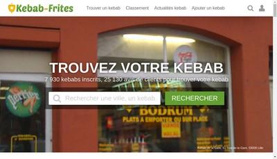 Site internet de Med' S Kebab