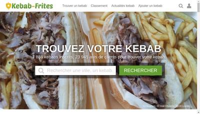 Site internet de Euro Kebab