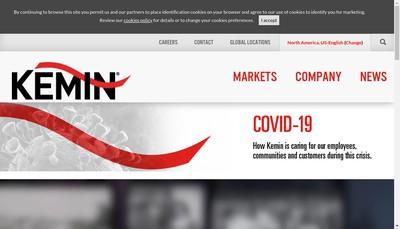 Site internet de Kemin France