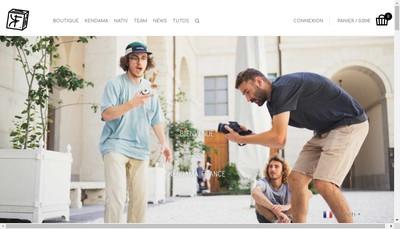 Site internet de Kendama France