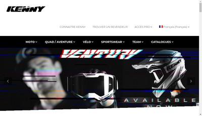 Site internet de Kenny