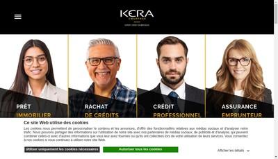 Site internet de Kera Courtage