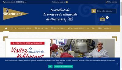 Site internet de Kerbriant