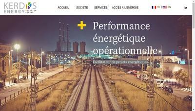 Site internet de Kerdos Energy