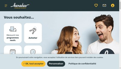 Site internet de Keredes Promotion Immobiliere