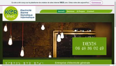 Site internet de Ker Elec