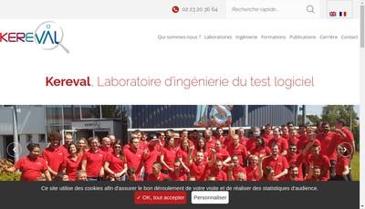 Site internet de Kereval
