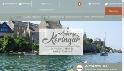 Site internet de Auberge de Keringar