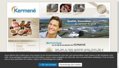Site internet de Kermene