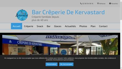Site internet de Creperie de Kervastard