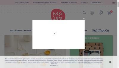 Site internet de Kesi'Art